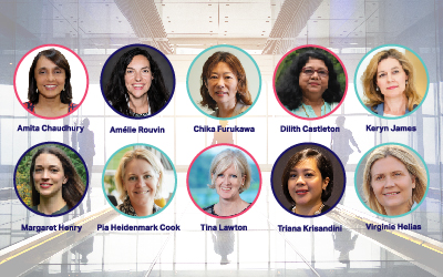 10 Leading Women celebrated at WBCSD Council Meeting